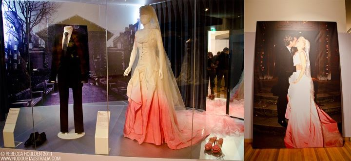 Another Photo of Gwen\'s Wedding Gown on Display at Bendigo Art ...