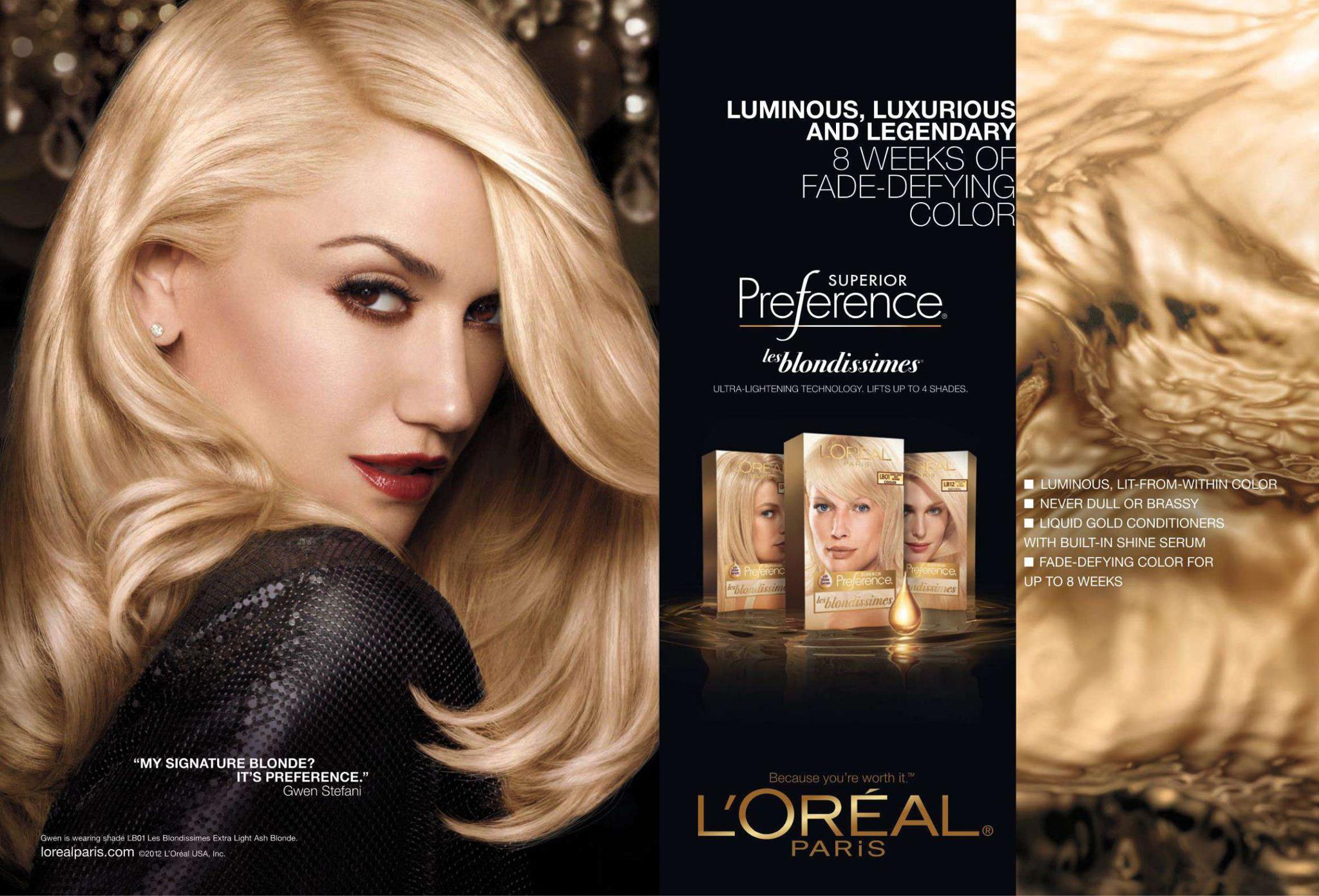 Bigger version of new L'Oreal's Ad! - Everything In Time