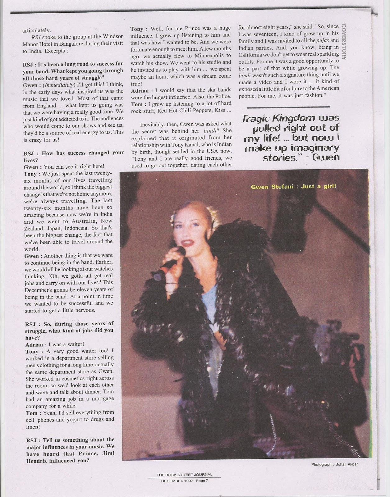 No Doubt Interview 2
