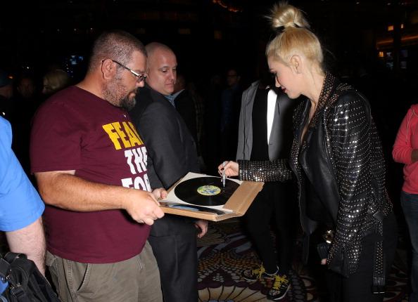 Gwen Stefani At Hakkasan