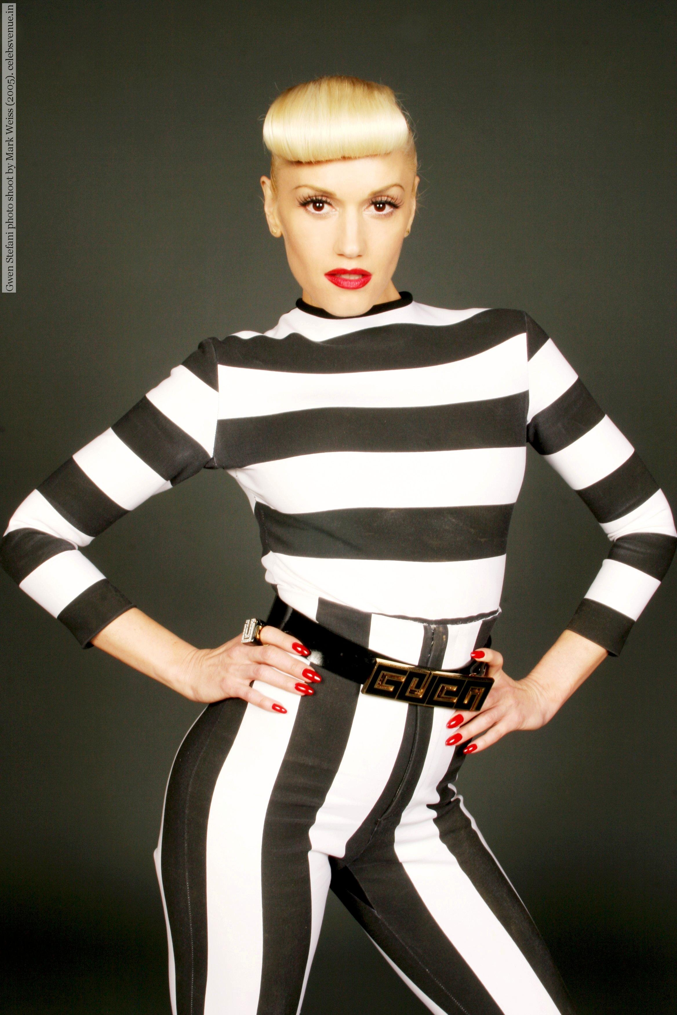Gwen Stefani photo shoot by Mark Weiss (2005)