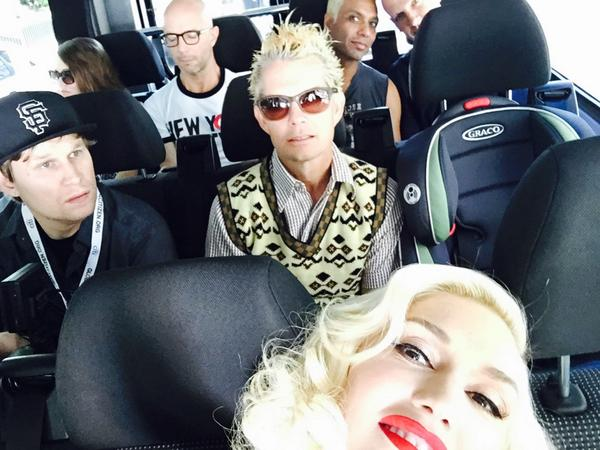 On our way to sound check #globalcitizen #centralpark gx