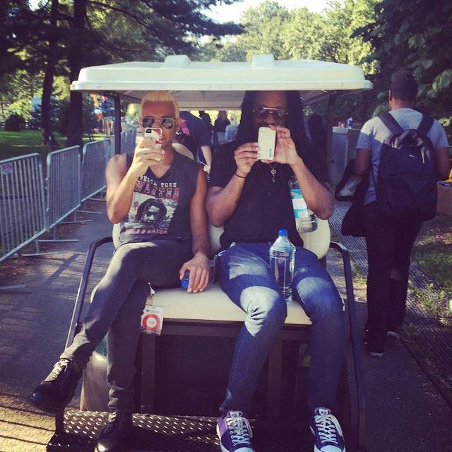 Missed the golfcart - Tom