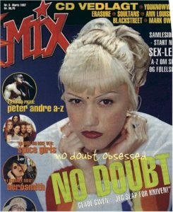 Gwen Stefani - MIX Magazine [Denmark] (1 March 1997)