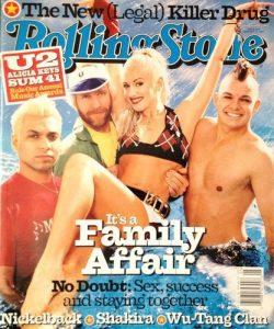 Gwen Stefani - Rolling Stone Magazine Cover [United States] (31 January 2002)
