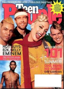 Gwen Stefani - Teen People Magazine Cover [United States] (1 July 2002)