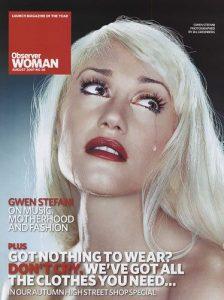 Gwen Stefani - The Observer Magazine Cover [United Kingdom] (August 2007)