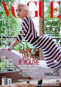 Gwen Stefani - Vogue Magazine [United States] (April 2004)
