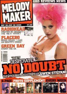 MELODY MAKER SEPTEMBER 2000